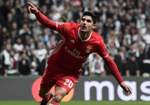 Gonçalo Guedes Besiktas Benfica UCL 11232016