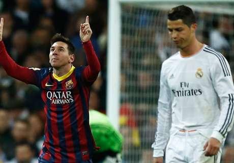 Messi marca más que CR7
