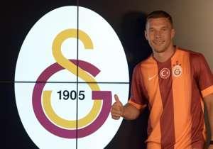 Lukas Podolski | de Arsenal a Galatasaray por 2,76 millones de dólares.