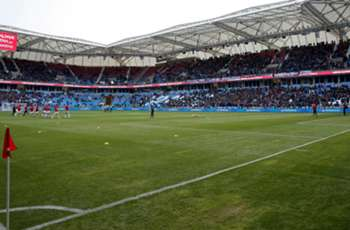 Trabzonspor make fan clean 10,000 seats after stepping on one