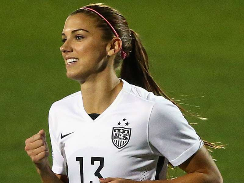 u s star alex morgan headed to france to play for powerful lyon. Black Bedroom Furniture Sets. Home Design Ideas