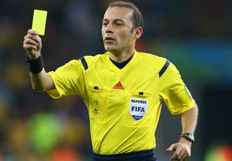 Cakir to referee Champions League final