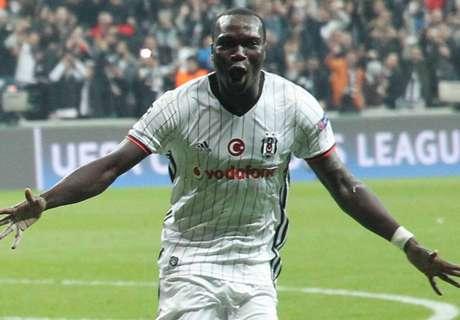 Aboubakar scores as Besiktas progress