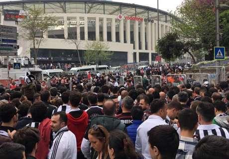 PICS: Besiktas break in new stadium