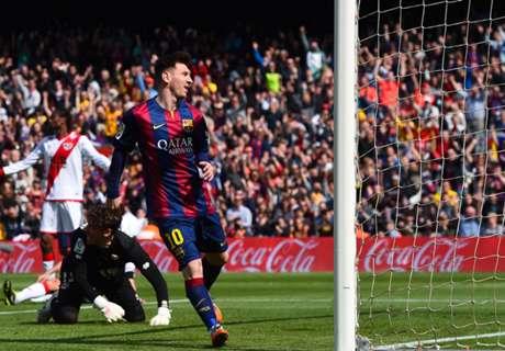 VIDEO: Messi hat-trick, Benzema 100