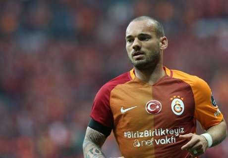 Sneijder helpt Galatasaray aan zege