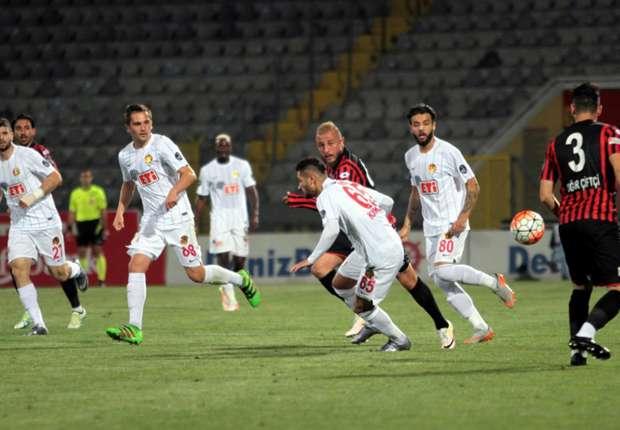 Eskişehirspor, Süper Lig'e veda etti: 3-1