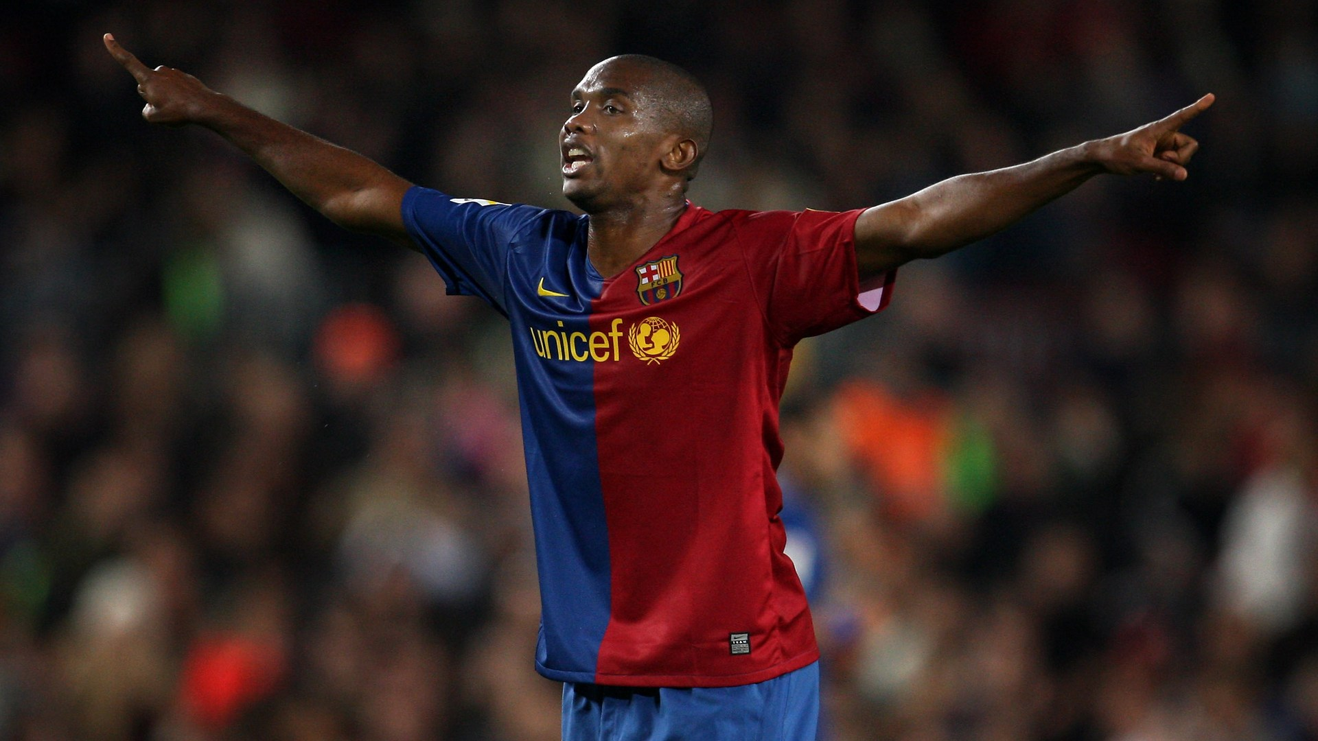 Image result for samuel eto'o barcelona goals