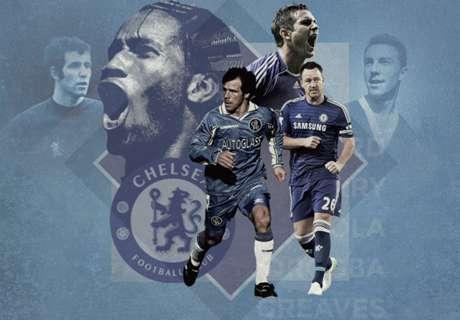 20 Pemain Terbesar Chelsea