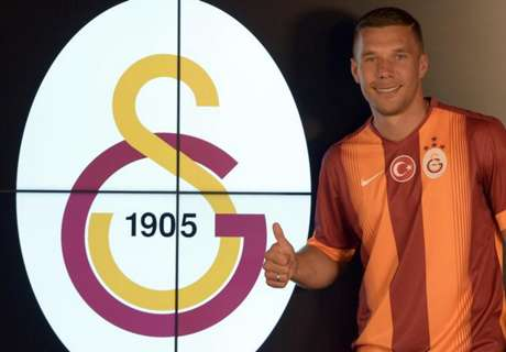 Galatasaray complete Podolski signing