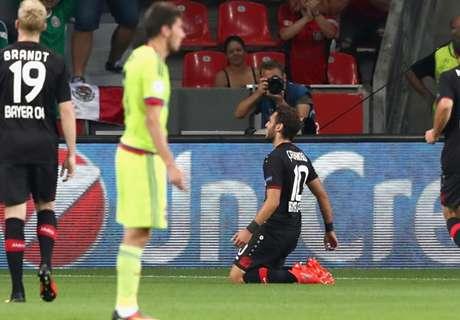Champions: Bayer 2-2 CSKA