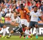 Zlatan scores on United debut