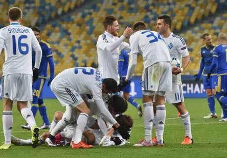 Dinamo Kiev, a octavos de final