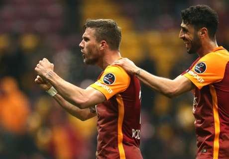 Poldi schießt Gala zum Sieg