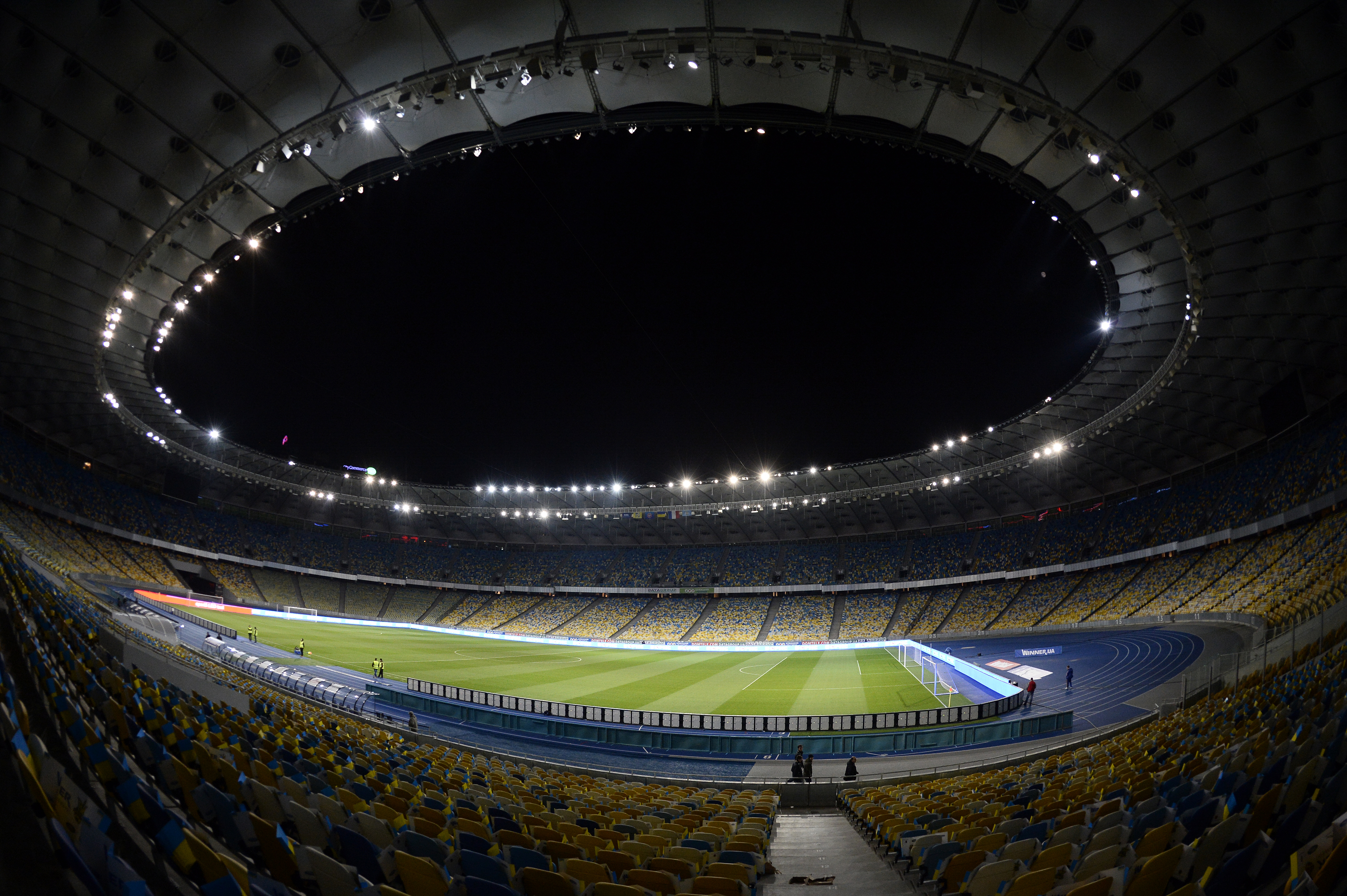 Olympic Stadium: Kiev, Ukraine