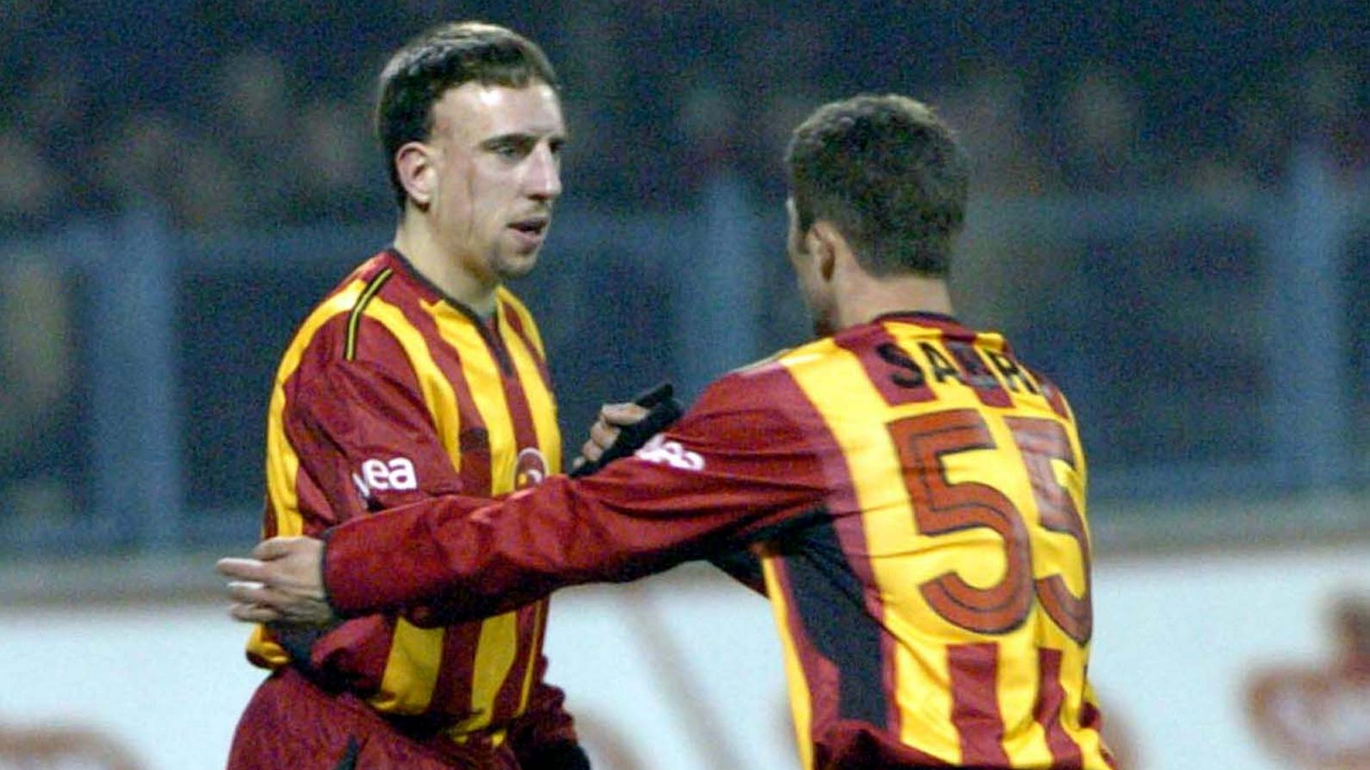 Franck Ribery Sabri Sarioglu Galatasaray nostalgia