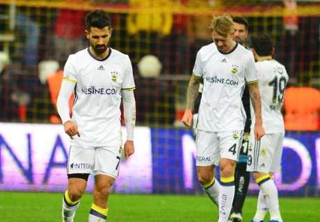 Fenerbahçe gaat af bij Kayserispor
