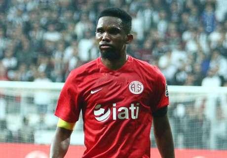 Samuel Eto'o nets brace in Turkey