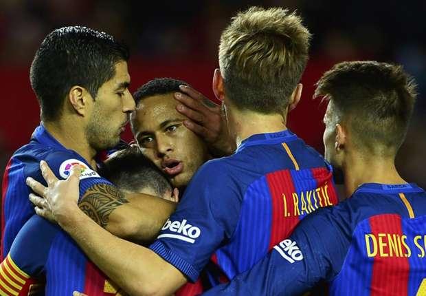 Sevilla 1-2 Barcelona: Messi & Suarez fire Catalan comeback