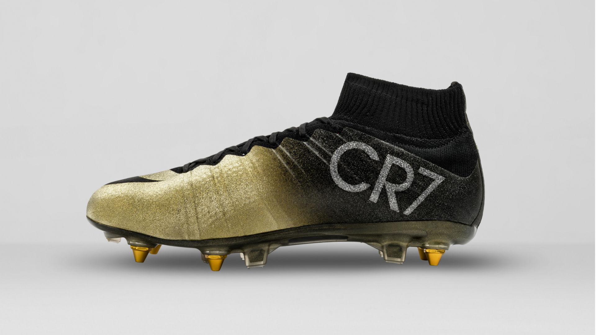 Cristiano Ronaldo Mercurial CR7 Rare Gold