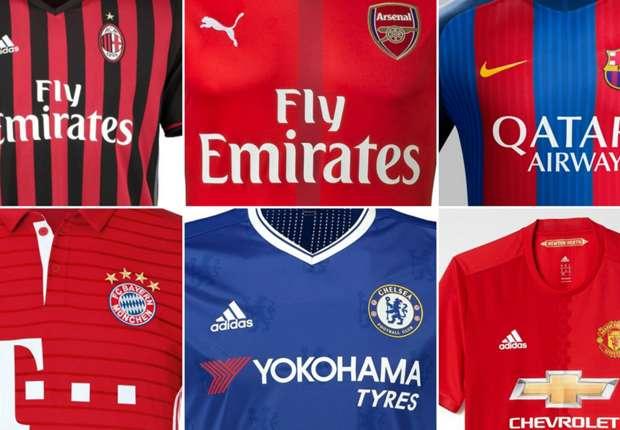 41528e00bcda The top 10 most valuable shirt deals in world football - Goal.com