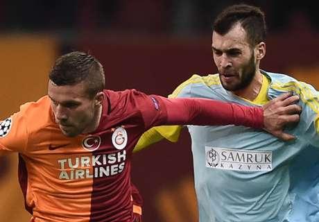 RATINGS: Galatasaray 1-1 Astana