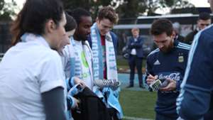 Picture Special: Messi meets CanTeen ambassadors at CFA Melbourne