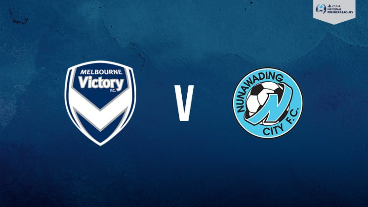 Melbourne Victory hosts Nunawading City in the PlayStation 4 NPL2 West on Saturday.