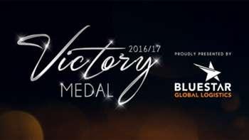 Gallery: Victory Medal 2016/17 award winners