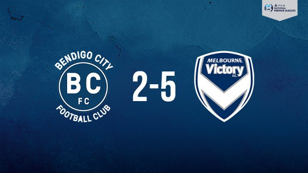 Melbourne Victory claimed a win over Bendigo City in the PlayStation 4 NPL2 West.