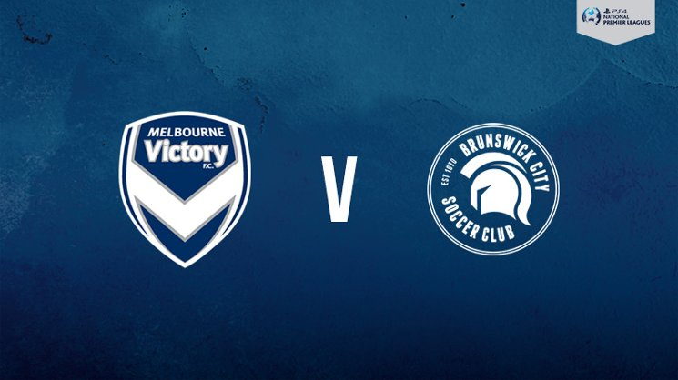 Melbourne Victory hosts Brunswick City in the PlayStation 4 NPL2 West.