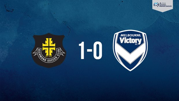 Melbourne Victory went down to Richmond in the PlayStation 4 NPL2 West.