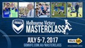 Melbourne Victory Masterclass is back for the July school holidays.