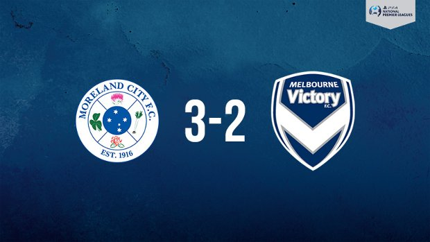 Melbourne Victory was downed by Moreland City in the PlayStation 4 NPL2 West.