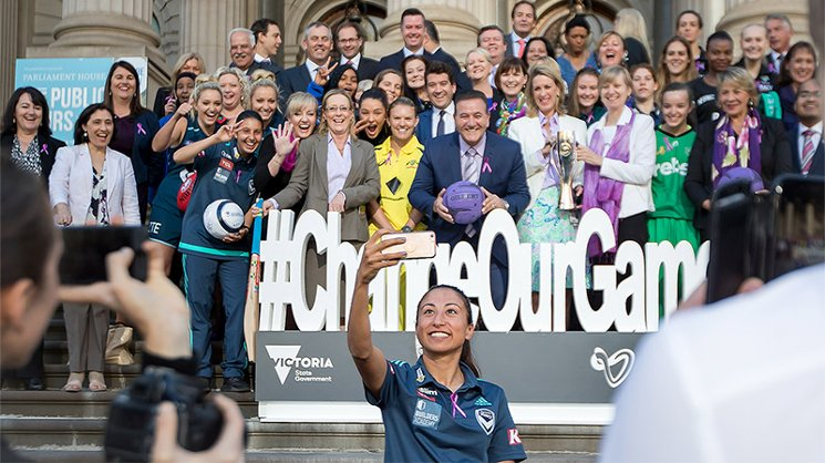 We're proud to support the #ChangeOurGame campaign for gender equality in sport.