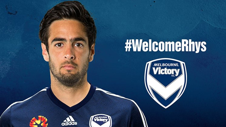 Rhys Williams has joined Melbourne Victory on a two-year deal.