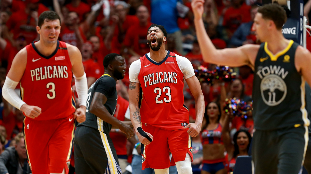 Golden State Warriors at New Orleans Pelicans Betting Preview 05/04/18