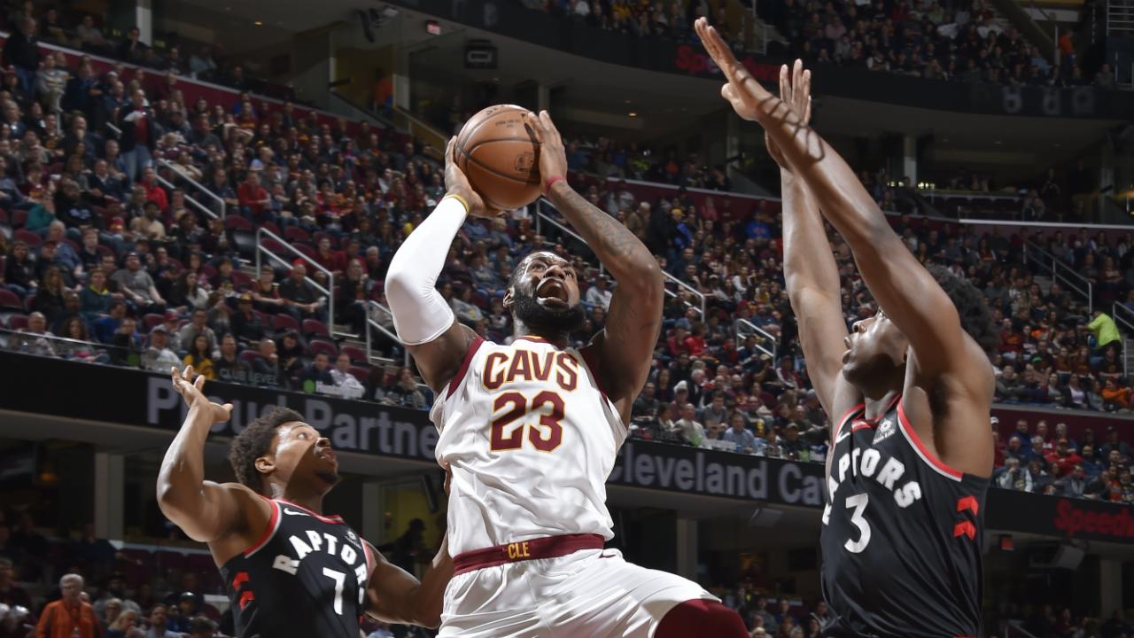 Toronto Raptors vs Cleveland Cavaliers odds