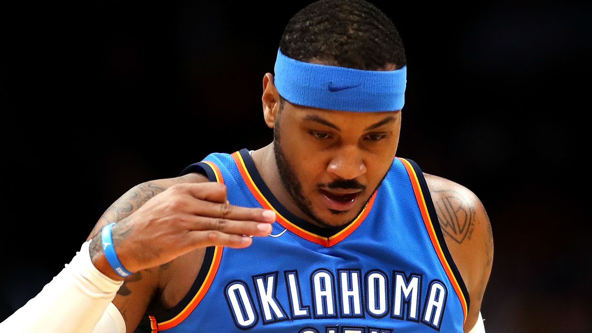 Oklahoma City Thunder trade Carmelo Anthony to the Atlanta Hawks