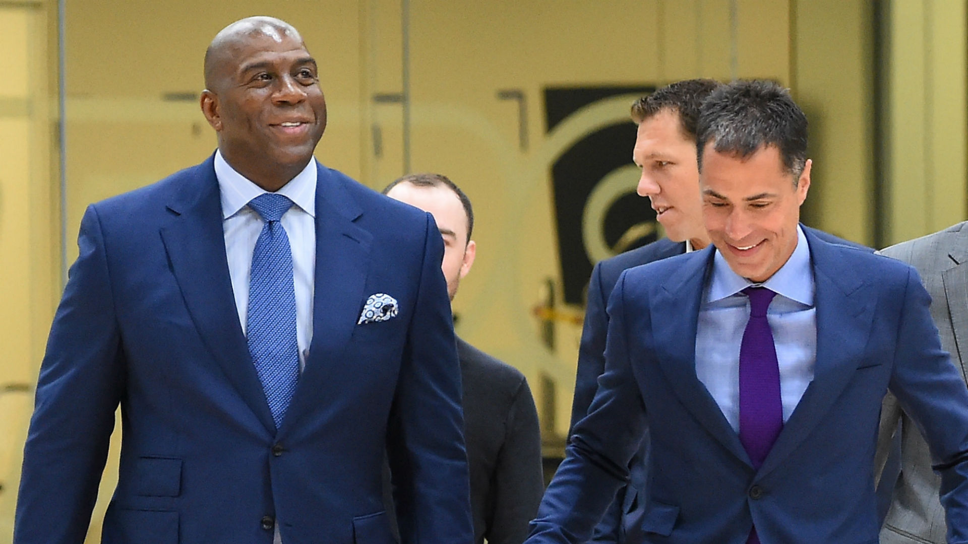 Magic Johnson, Lakers set high expectations, and now it's finally time to deliver