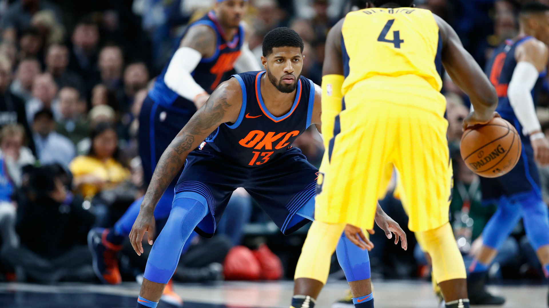 Swingman Paul George Lists Celtics As Possible Destination For Him