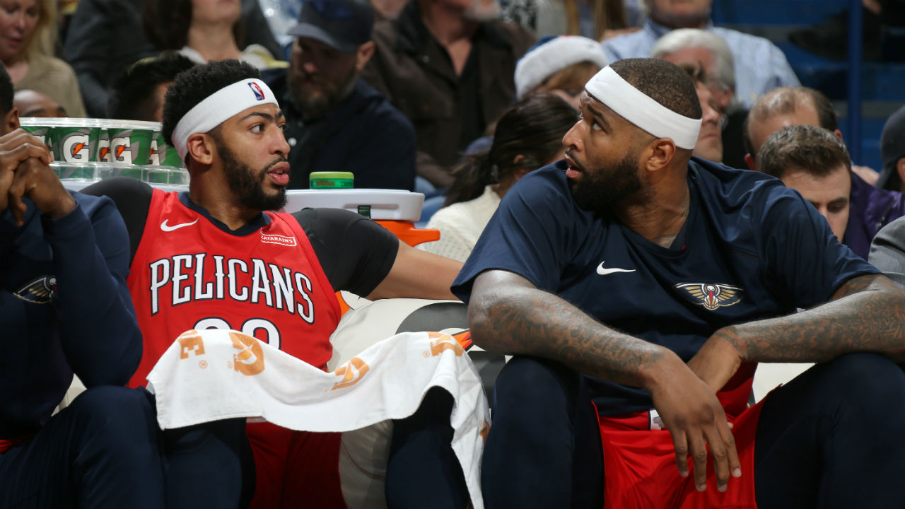 How Anthony Davis Reacted To DeMarcus Cousins Joining Warriors From Pelicans