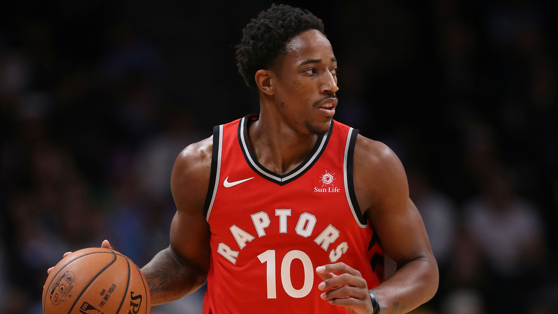 Raptors guard De Mar DeRozan