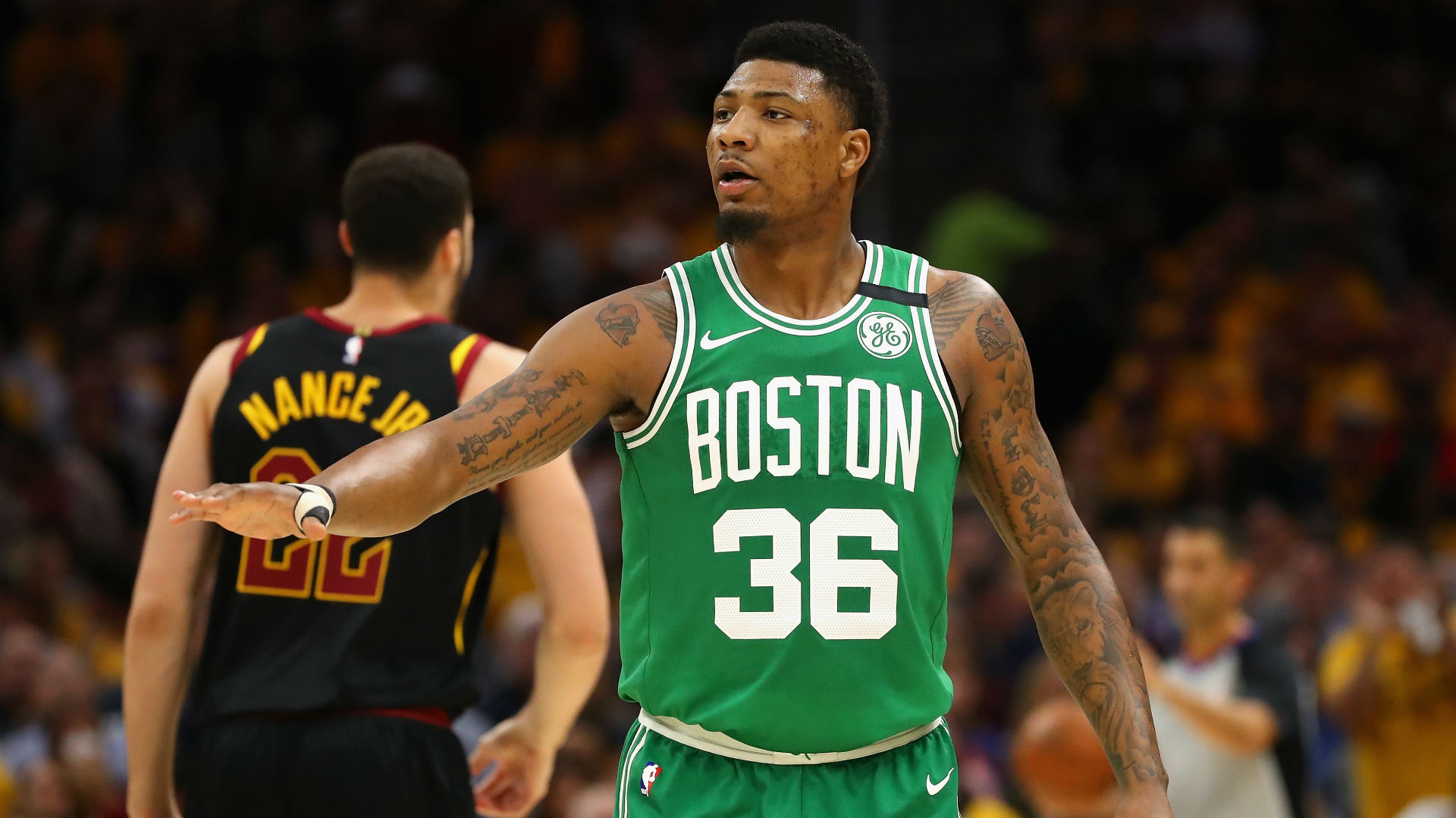 Marcus Smart Hospitalized With Flu-Like Symptoms After Signing New Contract