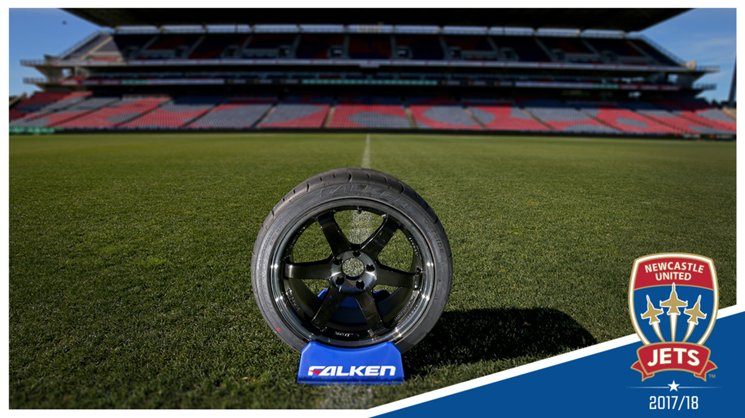 Falken Tyres | Newcastle United Jets FC Official Tyre Partner | 2017/18