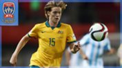 Cameron Joice in action for Australia U17