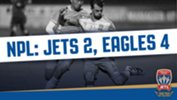 Junior Jets fall to Eagles' late show
