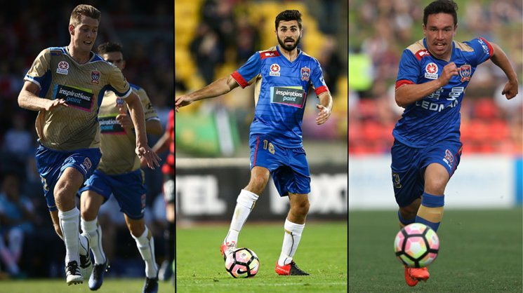 Lachlan Jackson, Nicholas Cowburn & Devante Clut will take part in an Australian U23 camp this month