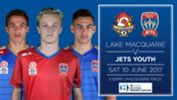 Newcastle Jets Youth will play their next match against Lake Macquarie Roosters FC
