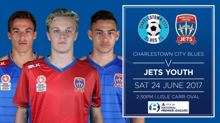 Jets Youth will play Lake Macquarie on Thursday followed by Charlestown on Saturday